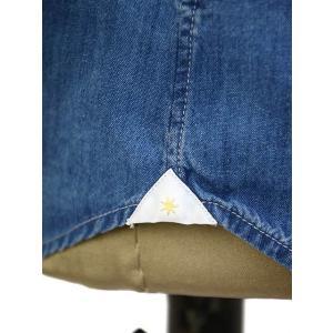 Bagutta【バグッタ】オープンカラーシャツ JOHNNY_GL 08266 050 デニム ウォッシュドインディゴ cinqueunaltro 06
