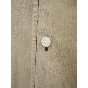 Bagutta【バグッタ】オープンカラーシャツ JOHNNY_GL 09468 070 コットン ベージュ|cinqueunaltro|04