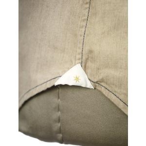 Bagutta【バグッタ】オープンカラーシャツ JOHNNY_GL 09468 070 コットン ベージュ|cinqueunaltro|06