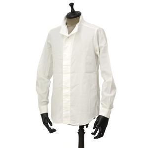 Bagutta【バグッタ】ハイネックシャツ NECK_GBL 08480 010 コットン ホワイト|cinqueunaltro