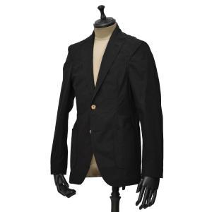 Bagutta【バグッタ】シングルジャケット RICK GL 09103 090 コットン ブラック|cinqueunaltro