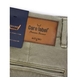 Care Label【ケアレーベル】コットンパンツ Boy Breeches 156 Cardiff 356 Color line 580 028 mud コットン ストレッチ ガーメントダイ サンドベージュ|cinqueunaltro|06