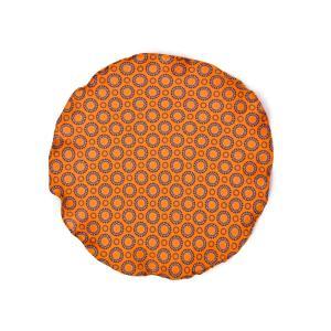 DOLCEPUNTA【ドルチェプンタ】ポケットチーフ 31×31 FAZZOLETTO-P2021 2 シルク 小紋 ドット オレンジ|cinqueunaltro