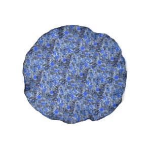 DOLCEPUNTA【ドルチェプンタ】ポケットチーフ 31×31 FAZZOLETTO-P2001 6 シルク フラワー ブルー|cinqueunaltro
