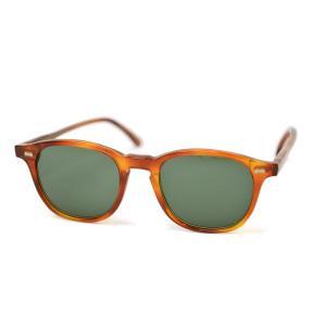 THE BESPOKE DUDES EYEWEAR【ザ ビスポーク デュース アイウェア】サングラス 49USH3703BG100 SHETLAND プラスティック オレンジ|cinqueunaltro