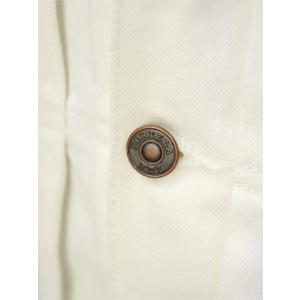 FORTELA【フォルテラ】デニムジャケット CYCLE TOP-47 144-D462 ホワイト|cinqueunaltro|05