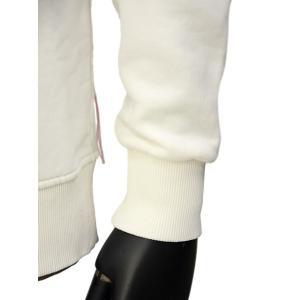 FORTELA【フォルテラ】クルーネックスウェット FRED ML 99164 コットン ホワイト|cinqueunaltro|04