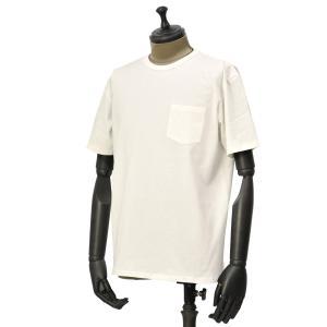 FORTELA【フォルテラ】ポケット付きクルーネックカットソーPOLO TUBE 99167 コットン ホワイト|cinqueunaltro
