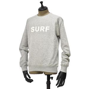FORTELA【フォルテラ】クルーネックスウェット FELPA F02 99301 JSF SURF コットン グレー|cinqueunaltro