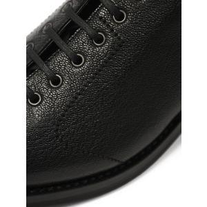 F.LLI Giacometti【フラテッリ ジャコメッティ】モンキーブーツ FG496 ゴートスキン ブラック|cinqueunaltro|06