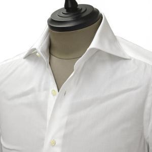 Giannetto【ジャンネット】ドレスシャツ SLIM FIT 7B11130L66 001 blue label コットン ツイル ホワイト cinqueunaltro