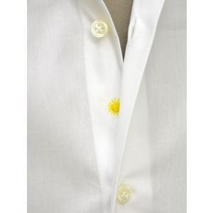 Giannetto【ジャンネット】ドレスシャツ SLIM FIT 8B10330L66 001 blue label コットン ポプリン ホワイト|cinqueunaltro|05