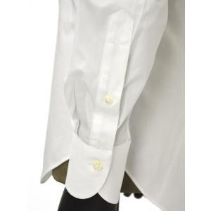 Giannetto【ジャンネット】ドレスシャツ SLIM FIT 8B10330L66 001 blue label コットン ポプリン ホワイト|cinqueunaltro|06