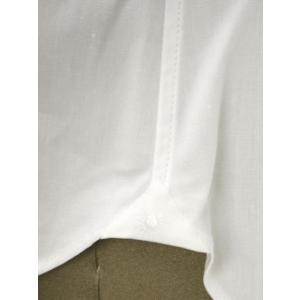 Giannetto【ジャンネット】ドレスシャツ SLIM FIT 8B10330L66 001 blue label コットン ポプリン ホワイト|cinqueunaltro|07
