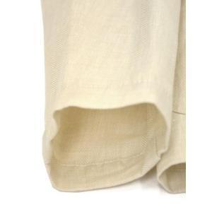 Giannetto【ジャンネット】シャツジャケット 8G844 05 リネン ヘリンボーン オフベージュ|cinqueunaltro|08
