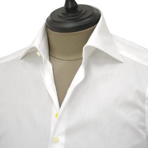 Giannetto【ジャンネット】ドレスシャツ SLIM FIT AB1130 L66 001 BLUE LABEL コットン ツイル ホワイト cinqueunaltro