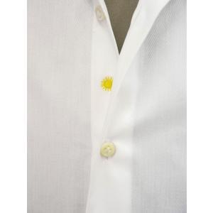Giannetto【ジャンネット】ドレスシャツ SLIM FIT AB1130 L66 001 BLUE LABEL コットン ツイル ホワイト cinqueunaltro 05
