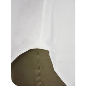 Giannetto【ジャンネット】ドレスシャツ SLIM FIT AB1130 L66 001 BLUE LABEL コットン ツイル ホワイト cinqueunaltro 07