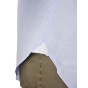 Giannetto【ジャンネット】ドレスシャツ SLIM FIT AB1130 L66 003 BLUE LABEL コットン ツイル ライトブルー cinqueunaltro 07