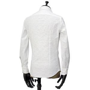 Giannetto【ジャンネット】カジュアルシャツ VINCI FIT AG15230V84 004 ジャガード ペイズリー ホワイト|cinqueunaltro|03