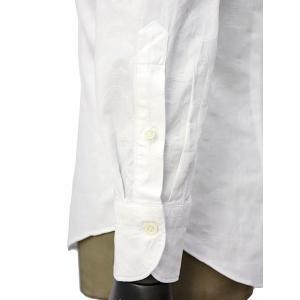 Giannetto【ジャンネット】カジュアルシャツ VINCI FIT AG15230V84 004 ジャガード ペイズリー ホワイト|cinqueunaltro|05
