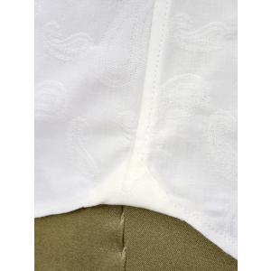 Giannetto【ジャンネット】カジュアルシャツ VINCI FIT AG15230V84 004 ジャガード ペイズリー ホワイト|cinqueunaltro|06