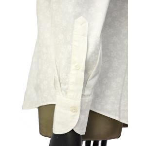 Giannetto【ジャンネット】カジュアルシャツ VINCI FIT AG31130V84 001 ジャガード フラワー ホワイト|cinqueunaltro|05