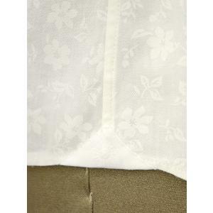 Giannetto【ジャンネット】カジュアルシャツ VINCI FIT AG31130V84 001 ジャガード フラワー ホワイト|cinqueunaltro|06
