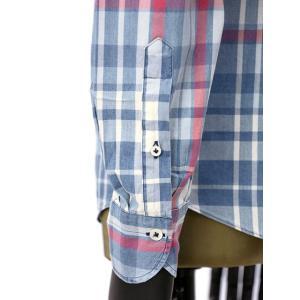 Giannetto【ジャンネット】カジュアルシャツ VINCI FIT AG34630V84 C01 チェック ブルー レッド|cinqueunaltro|05