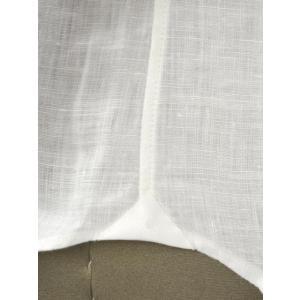 Giannetto【ジャンネット】カジュアルシャツ VINCI FIT AG83330V84 001 リネン ホワイト|cinqueunaltro|06