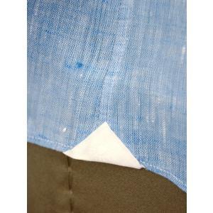 Giannetto【ジャンネット】カジュアルシャツ VINCI FIT AG85130V84 006 リネン ブルー cinqueunaltro 06