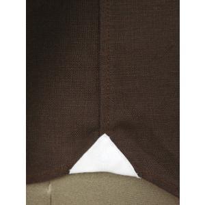 Giannetto【ジャンネット】カジュアルシャツ VINCI FIT AG83330V84 008 リネン ブラウン cinqueunaltro 06
