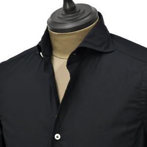 Giannetto【ジャンネット】カジュアルシャツ SLIM FIT 0203-103300L84 008 ポプリン ブラック|cinqueunaltro