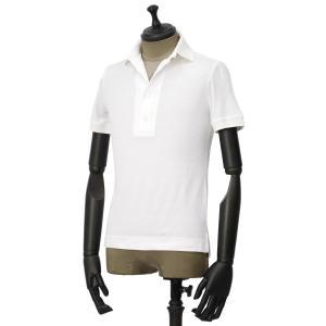 GIRELLI BRUNI【ジレッリ ブルーニ】ポロシャツ V858CO WHITE 2 コットン ホワイト|cinqueunaltro