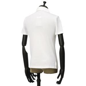 GIRELLI BRUNI【ジレッリ ブルーニ】スキッパーポロシャツ V040PC WHITE 1 コットン ホワイト|cinqueunaltro|02