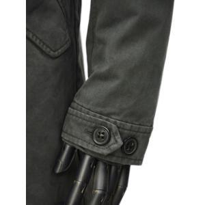 LEMPELIUS【レンペリウス】モッズコート M-51 6000 616R 69 コットン オールファーライニング ダークグリーン|cinqueunaltro|08