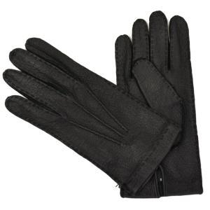 MEROLA【メローラ】手袋/グローブ ME829001 99 ペッカリーレザー ブラック|cinqueunaltro