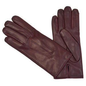 MEROLA【メローラ】手袋/グローブ ME829004 45 ラムレザー ボルドー グレー|cinqueunaltro