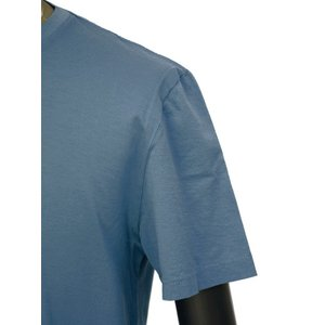 meystory【マイストーリー】クルーネックカットソー MS191UA33330 REALTEAL ピマコットン ブルー cinqueunaltro 05