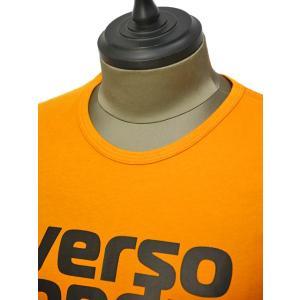 PAOLO PECORA【パオロペコラ】プリントクルーネックカットソー C1M F251 6320 3193 コットン オレンジ|cinqueunaltro|03