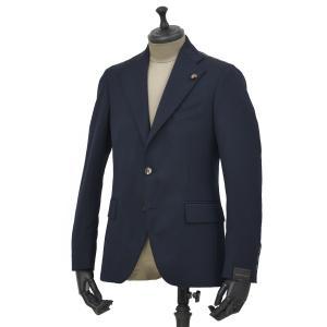 Gabriele Pasini【ガブリエレ パジーニ】シングルジャケット JG12072Q GPF12415 60 ポリエステル ウール ポリウレタン ネイビー|cinqueunaltro