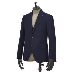 Gabriele Pasini【ガブリエレ パジーニ】シングルジャケット JG12066Q GPF12471 4 カシミア ネイビー|cinqueunaltro