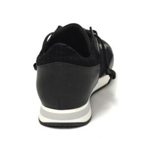 PHILIPPE MODEL【フィリップモデル】  スニーカー TROPEZ MATRIX NOIR TRLU EA02  レザー ナイロン ベルベット ブラック|cinqueunaltro|05