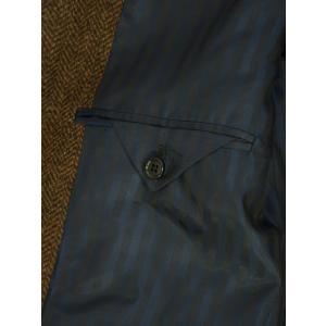【size44,48】Massimo Piombo【マッシモ ピオンボ】ショールカラーコート SHAWLCOLLA WD036 ヴァージンウール ブラウン|cinqueunaltro|06