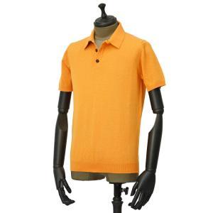 roberto collina【ロベルトコリーナ】ニットポロ RV10024 41 コットン オレンジ|cinqueunaltro