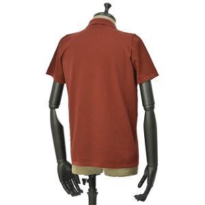 roberto collina【ロベルトコリーナ】ニットシャツ RA11011 36 コットン ボルドー|cinqueunaltro|02