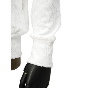 Seagreen【シーグリーン】パイルパーカー コットン ボタニカル ホワイト|cinqueunaltro|05
