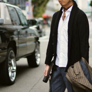 Settefili Cashmere【セッテフィーリ カシミア】ケーブルショールカーディガン TR6CA PU017 カシミヤ ブラック|cinqueunaltro|06