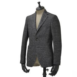 THE GIGI【ザ ジジ】シングルジャケット  VELVET G088 820 コットン ウール メランジ  ホワイト グレー|cinqueunaltro