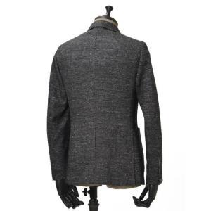 THE GIGI【ザ ジジ】シングルジャケット  VELVET G088 820 コットン ウール メランジ  ホワイト グレー|cinqueunaltro|02